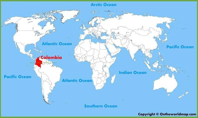 Kolumbie – ráj slasti a neřesti