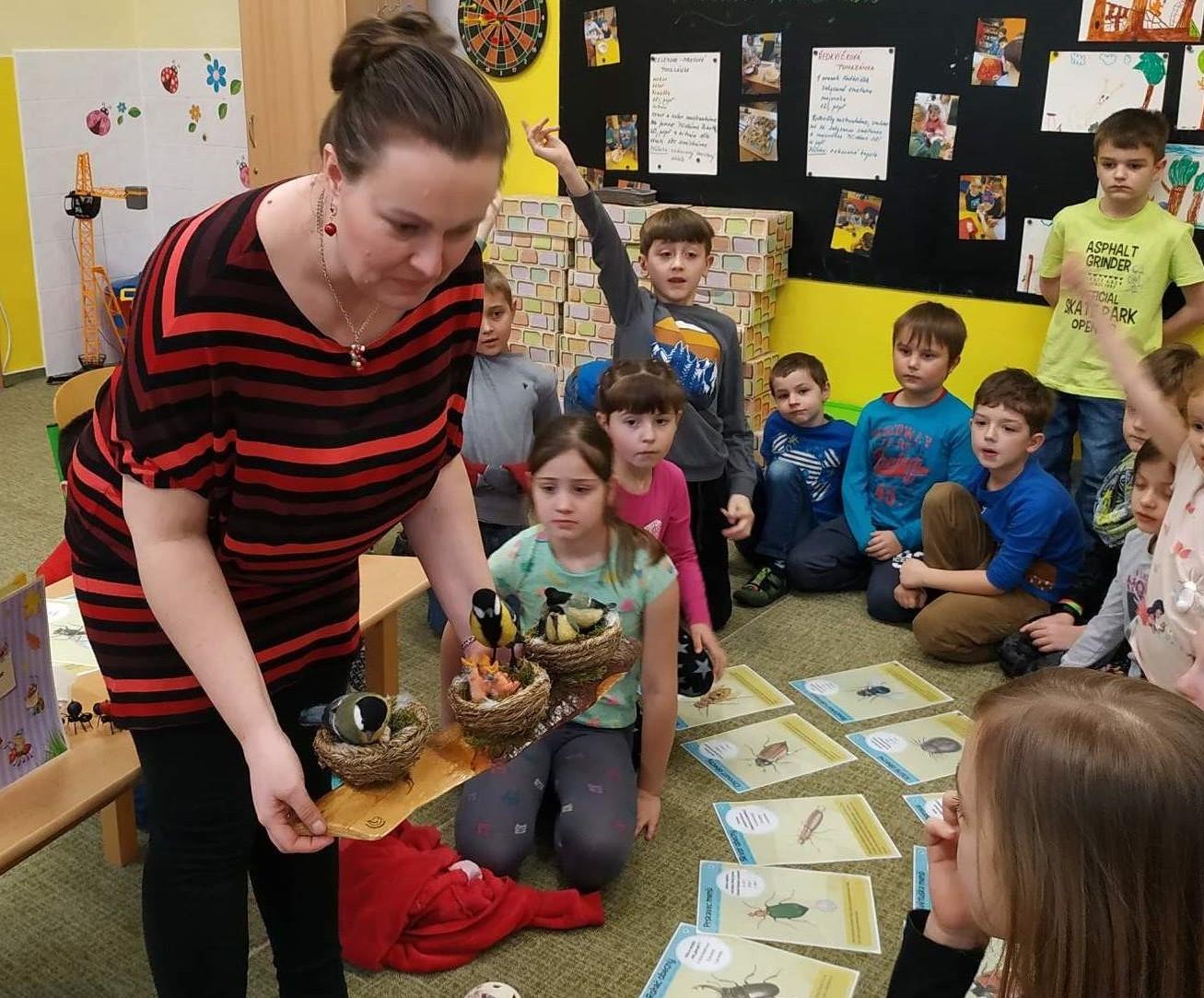 Návštěva entomologa ve školní družině