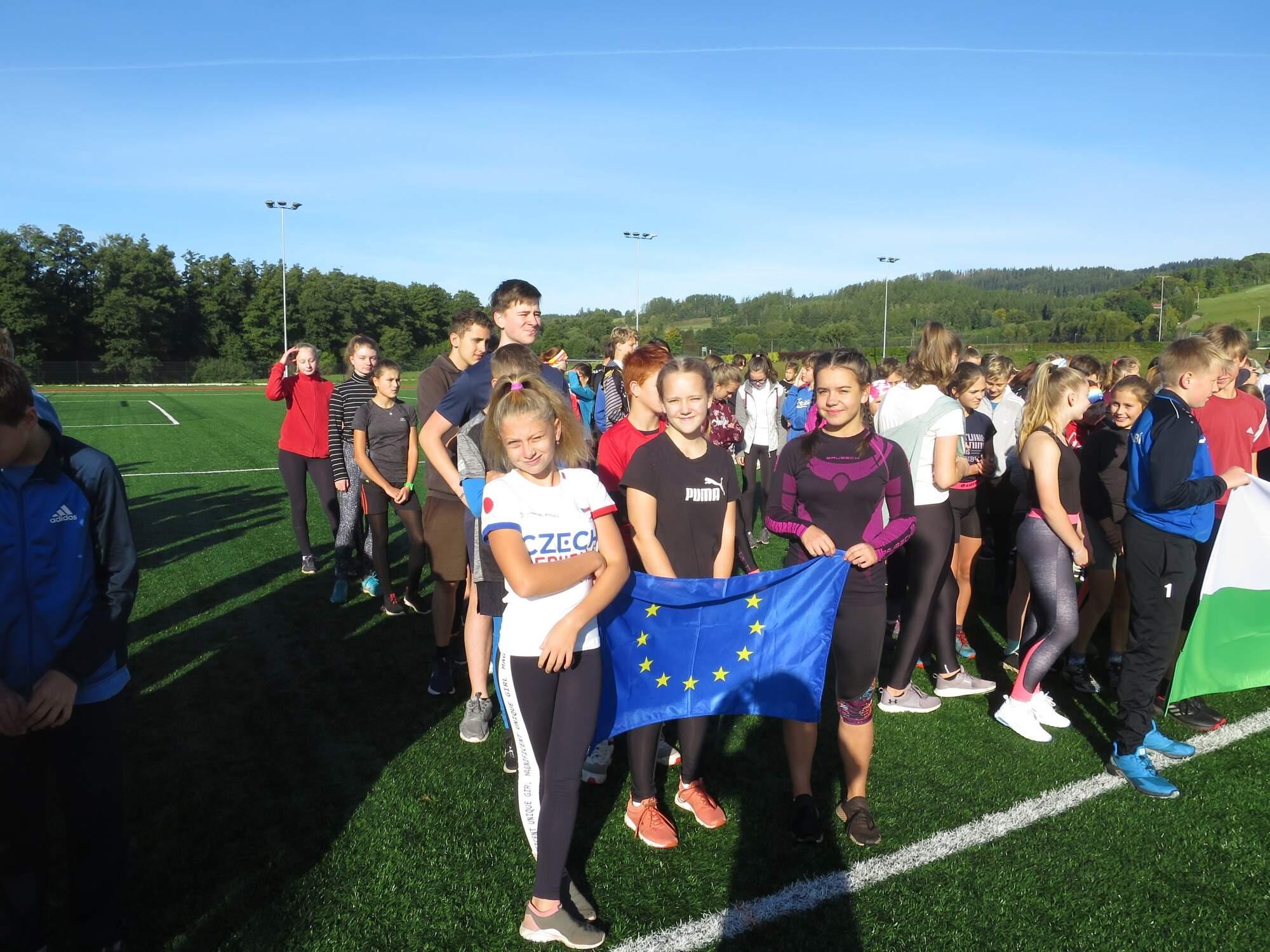 Atletika ve Vrchlabí